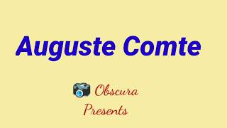Auguste Comte, Major Founder of Sociology......#Sociology #NETUGC #Anthropology