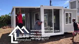 Folding container house -Your New Home Ready in 10 Minutes