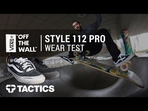 Vans Style 112 Pro Skate Shoe Wear Test Review - Tactics.com