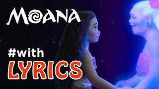 """MOANA song """"I Am Moana"""" with LYRICS"""
