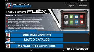 MAXFLEX DIAGNOSTIC SCAN TOOL MDMAXFLEX | Matco Tools