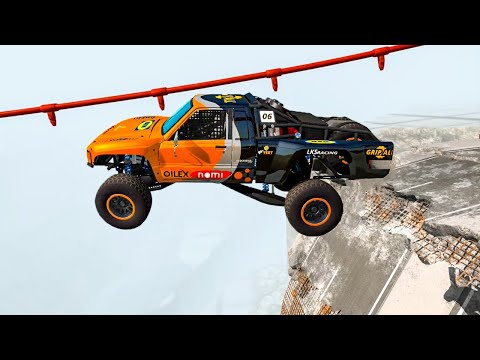 Epic Crashes & Destruction ★BeamNG drive★ Crazy Jumps Police Chases Crash Test Cars / Drive2Live