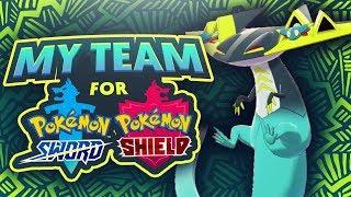 My Pokemon Team For Pokemon Sword and Pokemon Shield