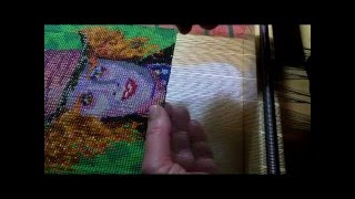 Demonstration - Beadweaving Of Mad Hatter On A Bead Loom