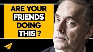 """""""WALK AWAY From BAD Friends!"""" - Jordan B. Peterson (@jordanbpeterson) - #Entspresso"""