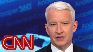 Anderson Cooper slams Trump's 'tone-deaf' remarks