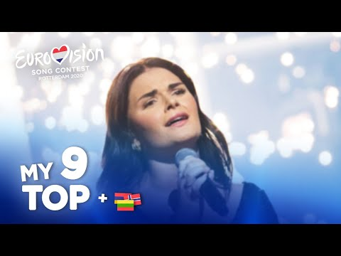 Eurovision 2020 - Top 9 (NEW: 🇱🇹🇳🇴🇦🇲)