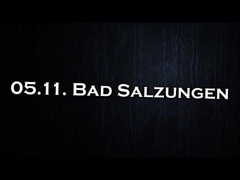 Tourtagebuch MO[NU]MENT Part II – 05.11.2016 Bad Salzungen