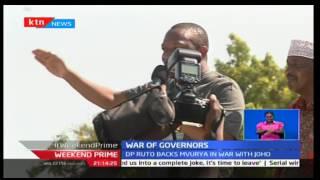 William Ruto backs Mvurya in war with Mombasa Governor Joho