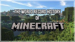 The World Record History of Minecraft Speedruns