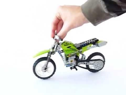 Vidéo LEGO Technic 8291 : La moto cross