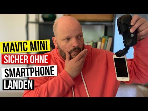 DJI Mavic Mini sicher ohne Smartphone und ohne Controller mit RTH landen