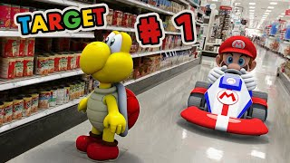 Super Mario Goes To Target (Part 1) | Super Mario Bros In Real Life