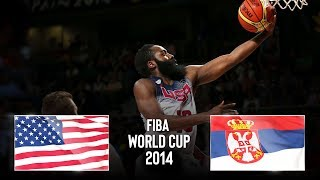 USA 🇺🇸 v Serbia 🇷🇸 - Classic Full Games | FIBA Basketball World Cup 2014