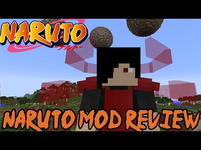 1 7 10 Sekwah41 s Naruto mod Minecraft Mod