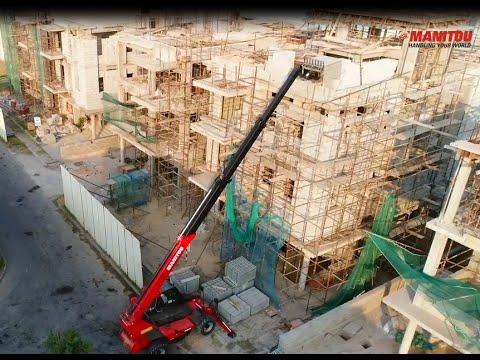 Manitou MXT 1740 K Construction Telehandler