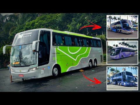 ESPECIAL GALERA DO ÔNIBUS Marcopolo Busscar Comil