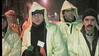 КЛИП НА МУЗЫКУ 5 КАНАЛА   революция на майдане съемка монтаж Алекс Варшавский 2004 год VHS