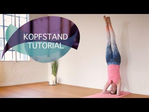 Kopfstand Tutorial: Yoga Kopfstand richtig üben // FlexibleFit Yoga