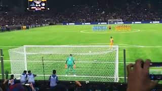 Астана Апоел серия пенальти за воротами