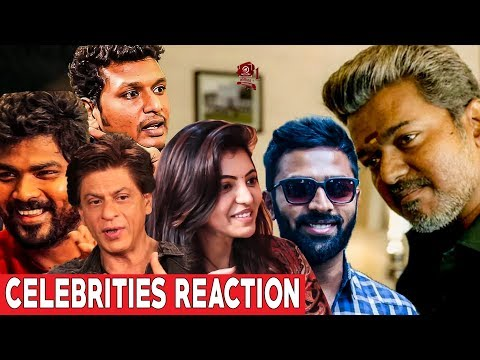 CELEBRITIES Reaction About BIGIL Trailer | Vijay |..