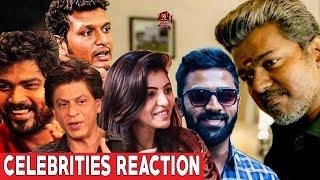 CELEBRITIES Reaction About BIGIL Trailer | Vijay | Atlee | AR Rahman | #Nettv4u