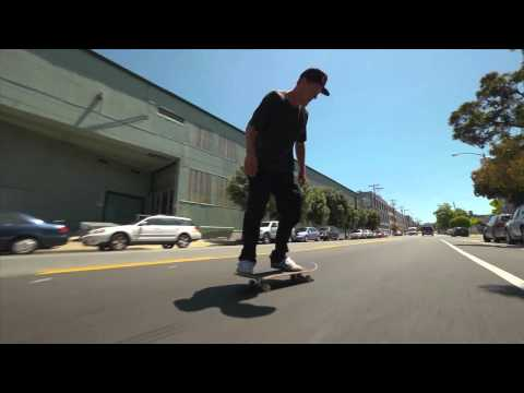 REAL Skateboards Dennis Busenitz Pushing San Francisco