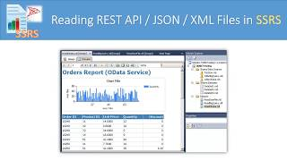 SSRS - How to read for REST API / JSON File / XML Service (OData OAuth, Pagination)