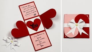 Valentine's Day Cards | Love Greeting Cards Latest Design | Handmade Valentine Cards
