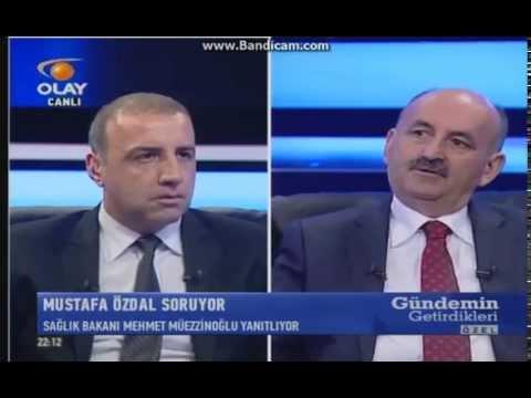 09.05.2015 Sağlık Bakanı Mehmet Müezzinoğlu Olay TV de atamalara bir kez daha açıklık getirdi