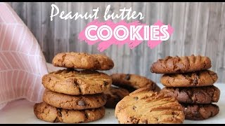 easy peanut butter chocolate chip cookies no egg
