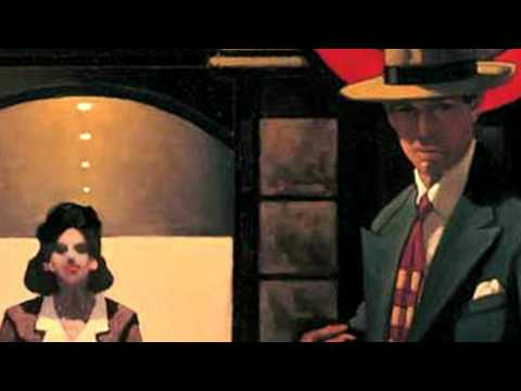 Jack Vettriano &  Elaine Paige - I get along without you very well