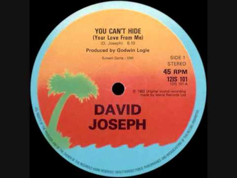 You Can't Hide (Your Love From Me) (Song) by David Joseph