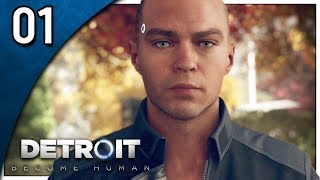 Let's Play Detroit: Become Human Part 1 -  The Hostage / Shades of Color [PS4 Gameplay]