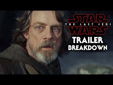 Star Wars The Last Jedi Trailer Breakdown (Last Jedi Official Trailer)
