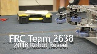 """FRC Team 2638 """"Rebellion"""" Reveal Video 2018"""