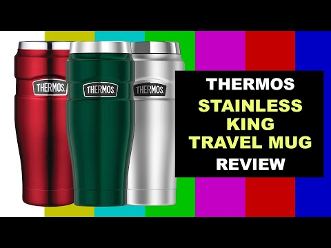 Review of the Thermos King Stainless Steel Travel Mug.