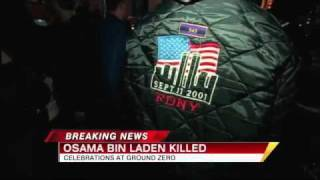 Osama Bin Laden Dead 2011: Ground Zero Crowds Cheer All Night