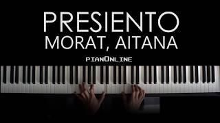 Morat, Aitana   Presiento   Piano Tutorial Cover + Acordes Y Letra   Karaoke Instrumental V1