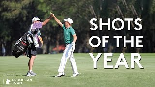 Top 100 Golf Shots of the Year (2018)