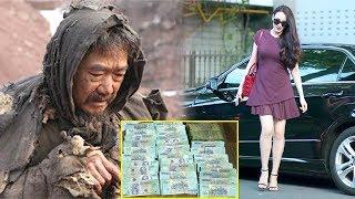 Bị Chồng Đuổ.i Đi, Vợ Mang Hết Tiền Giúp Ông Cụ Ăn Xin Thì Được Ông Đưa Mảnh Giấy Ai Ngờ...