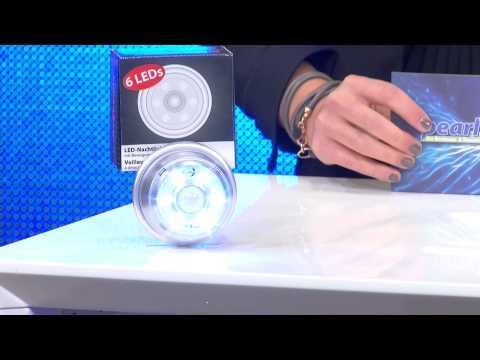 Lunartec LED-Nachtlicht mit Bewegungs-Sensor