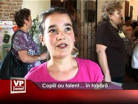 Copiii au talent…, în tabără