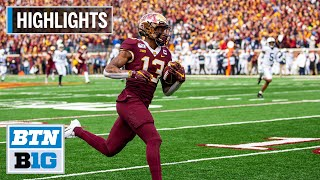 Highlights: Gophers Upset Penn State, Remain Undefeated   Penn State at Minnesota   Nov. 9, 2019