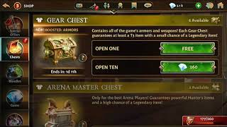 Dungeon Hunter 5 - Massive Chest Opening - Massive Legendary Drop