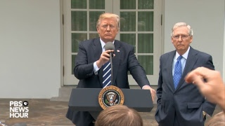 WATCH: President Trump makes announcement from White House Rose Garden