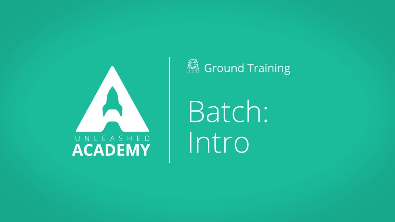 Introduction to Batch Tracking YouTube thumbnail image