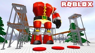 BUILD A GIANT EVIL SANTA IN ROBLOX