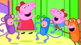 Five little Monkeys Jumping on the Bed | Nursery Rhymes & Kids Songs