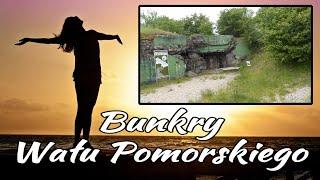 Jeden z bunkrów Wału Pomorskiego - Wałcz